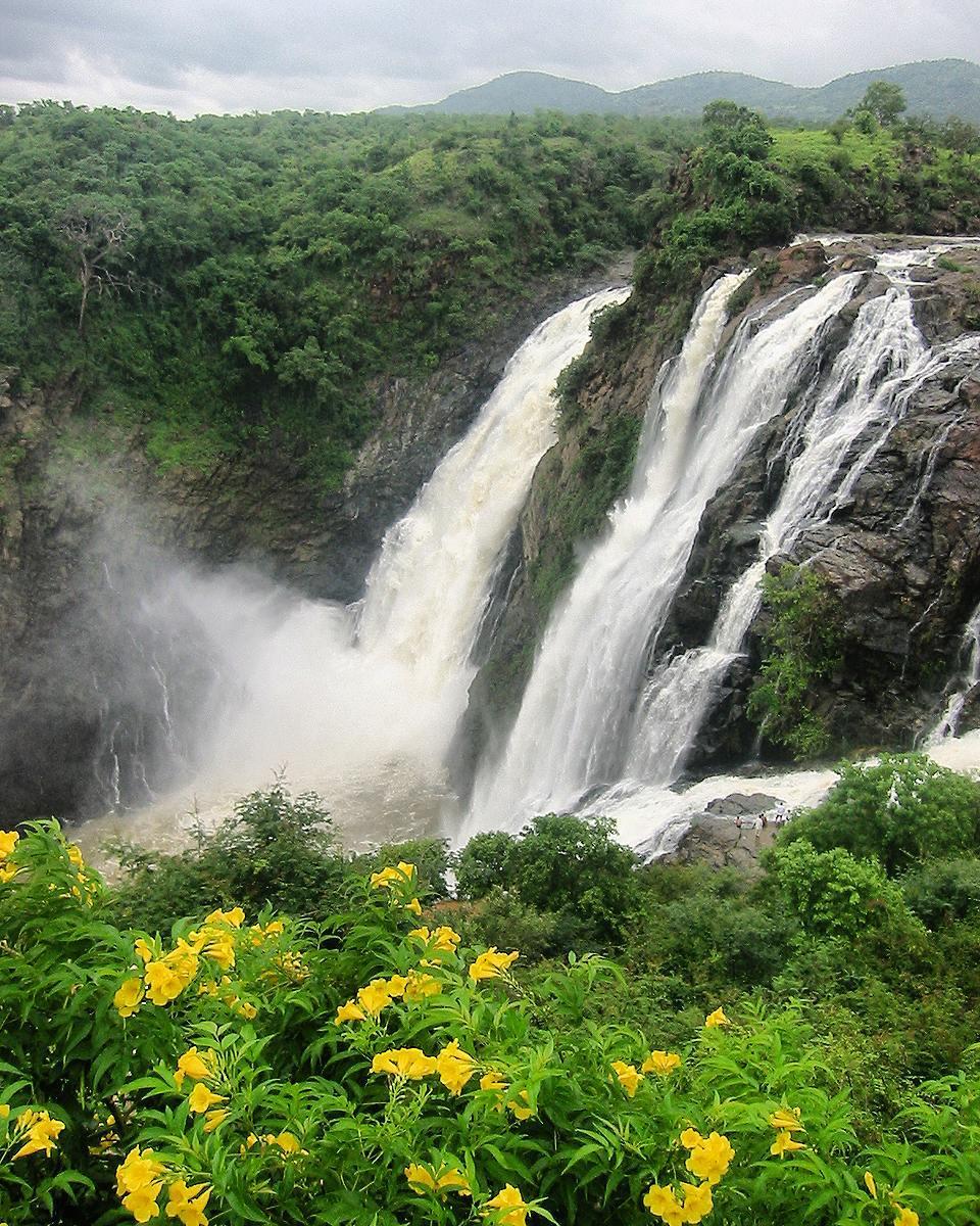 Shivasamudram Waterfall
