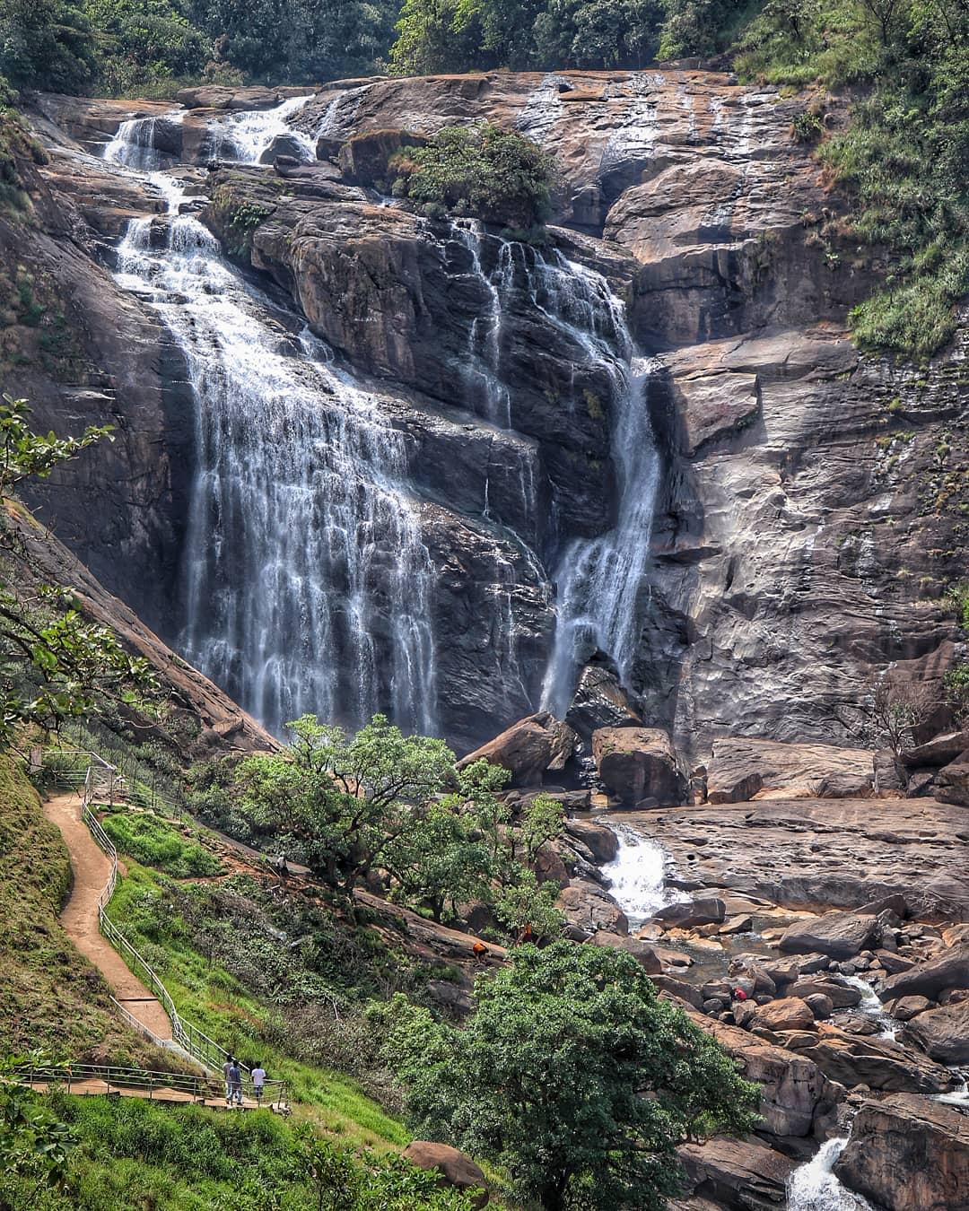 Mallalli Waterfall