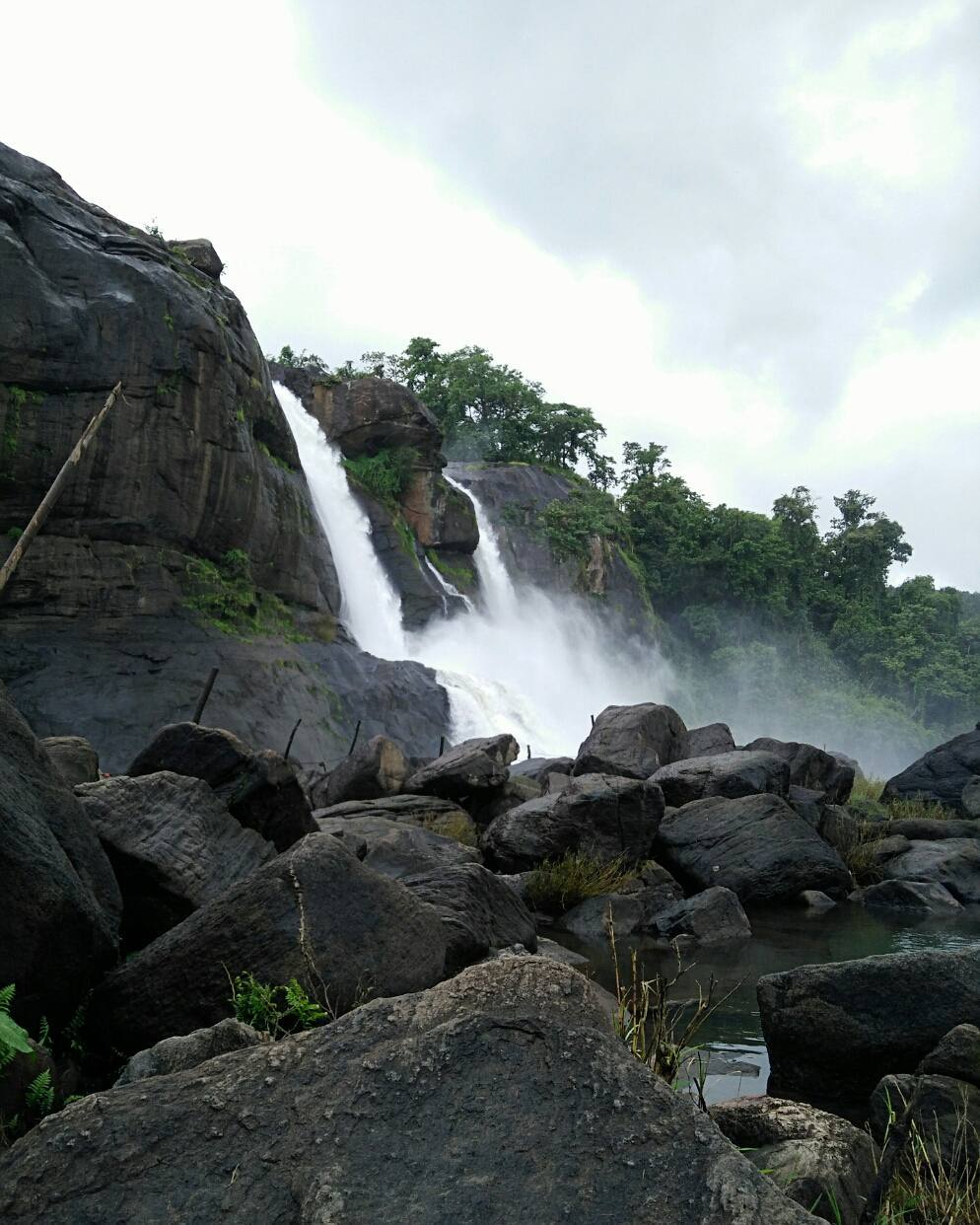 Athirappally Water Falls