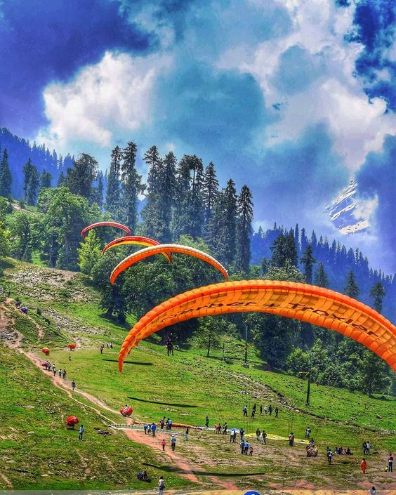 hill stations in Himachal