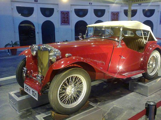 Vintage Car Museum Places to Visit in Udaipur