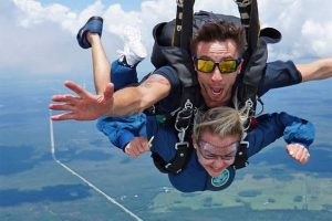 things not to do during skydiving