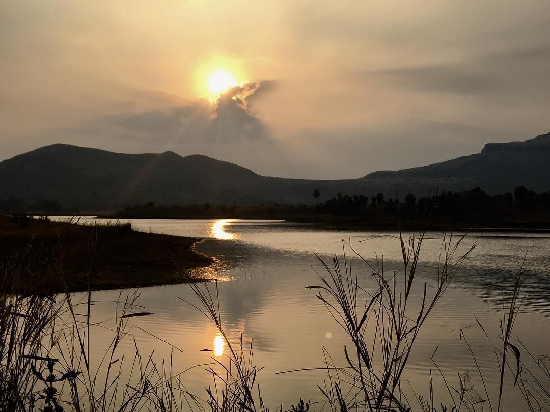 Tringalwadi Lake