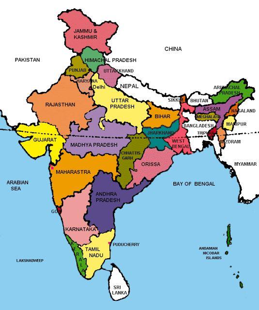 largest coastline in India