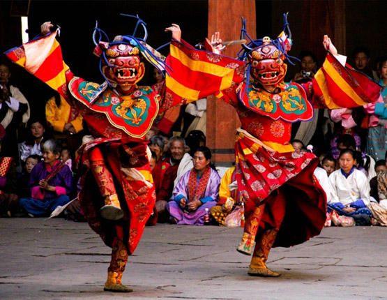 Local Festival of Bhutan