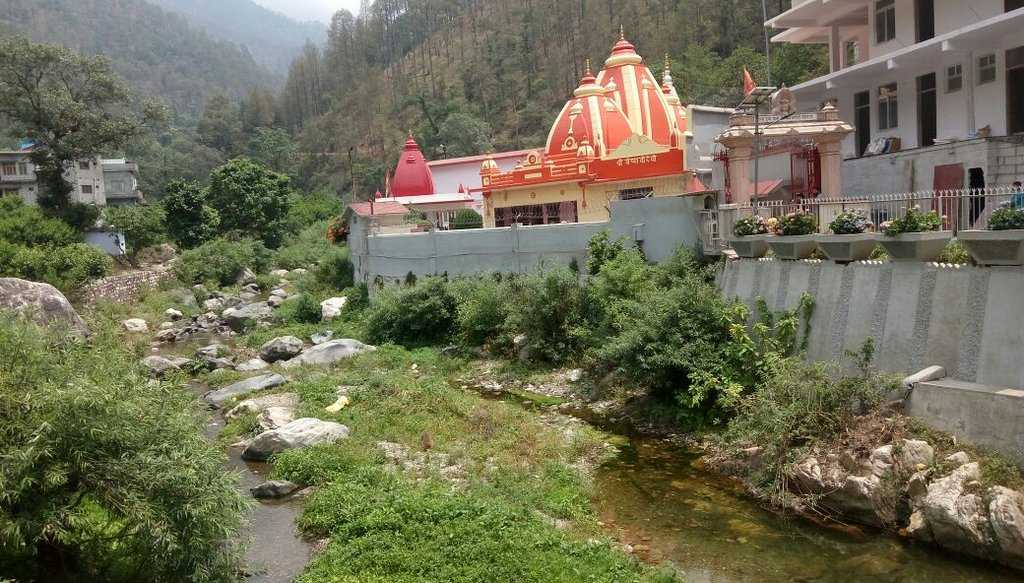 Ancient Khurpa Temple Nanital