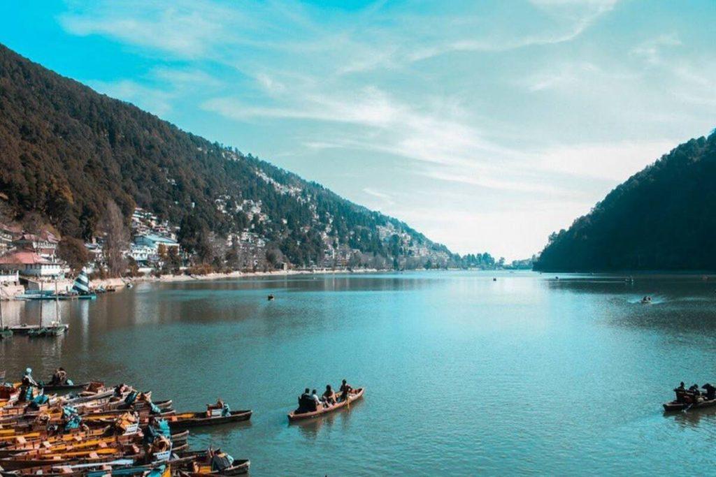 Average Tourist Volume Of Nainital