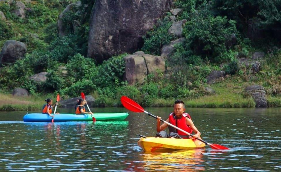 Boating At Umiam Lake