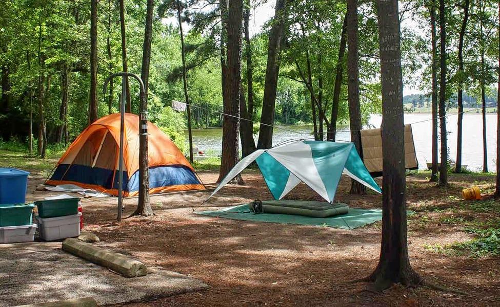 Camping Around Umiam Lake