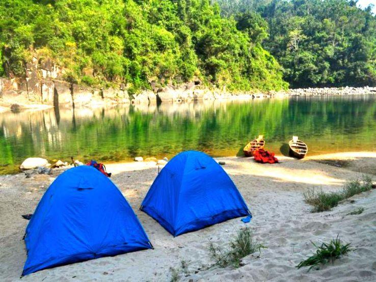 Camping in shillong