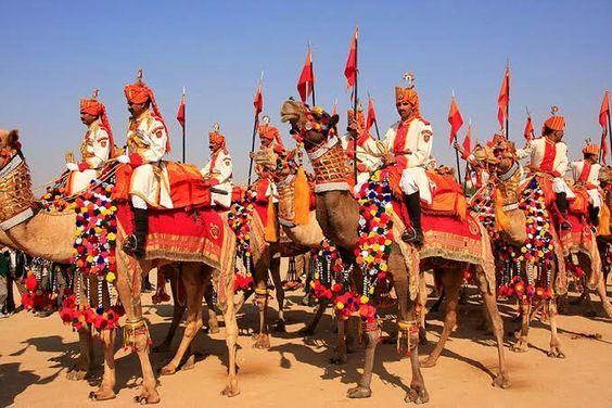 Local Festival Of Jaisalmer